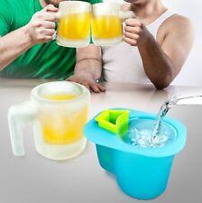 Invotis Ice Mug Eis Krug Form NEU/OVP Eisbierkrug Bierkrug Beer Pitcher Hoobbe