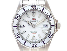 Orient King Master WZ0251ER White Dial Silver Bezel Automatic Men's Watch F/S