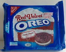 Nabisco OREO Red Velvet Cream Cheese Flavored Creme sandwich Cookies