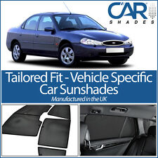 Ford Mondeo 5dr 96-00 UV CAR SHADES WINDOW SUN BLINDS PRIVACY GLASS TINT BLACK