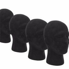 2 Pack Male Hair Foam Mannequin Head Model Wig Hair Display Stand Handy Us