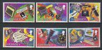 Guernsey - 1997, Methods of Communication set - MNH - SG 741/6