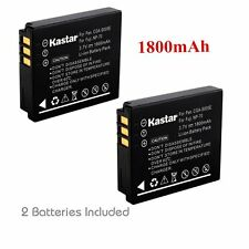 2x Kastar Battery for Panasonic Lumix CGA-S005 DMC-LX1 DMC-LX2 DMC-LX3