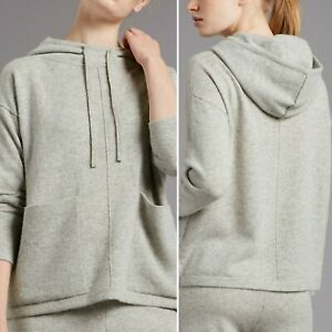 M&S Autograph Pure Cashmere Relaxed Fit Hoodie RPR £125 Size Large L BNWT