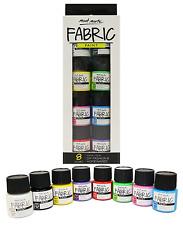 Fabric Paint Set Professional Quality 8 Colours x 20ml – Water Resistant Paint