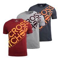 Mens T-Shirt Crosshatch Branyan Tee Top