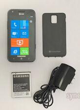 SAMSUNG FOCUS S i937 AT&T (UNLOCKED) 16GB WINDOWS 7.5 SMARTPHONE WIFI - BLACK