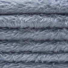 """1/4 yd 325H Periwinkle Intercal 5/8"""" Semi-Sparse Heirloom Finish Mohair Fabric"""