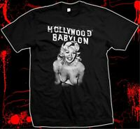 Hollywood Babylon - Kenneth Anger - Hand Silk-screened, 100% Cotton T-shirt