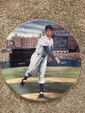 Don Larsen - Perfect World Series Game - Bradford Exchange Collector Plate