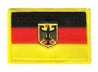 Aufnäher Deutschland Adler Patch Flagge Fahne