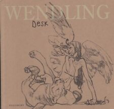 BD WENDLING Desk art illustration BD Carnet croquis Delcourt