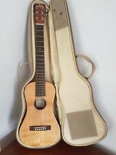 More details for sx traveller acoustic guitar and soft padded case bag