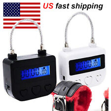 Multipurpose Time-Lock Electronic Timer Tool for Ankle Mouth(USB Rechargeable)