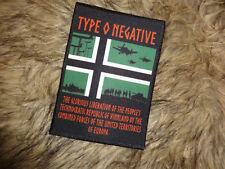 Type O Negative Import Patch Carnivore
