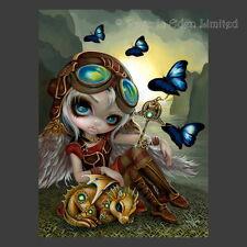 *CLOCKWORK DRAGONLING* Strangeling Fairy Art 3D Print By Jasmine Becket-Griffith
