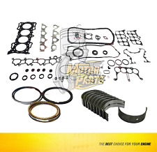 Gasket,Main & Rings Set For 90 -95 Honda Accord Prelude 2.2 L SOHC F22A1
