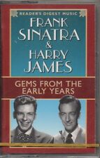 """FRANK SINATRA & HARRY JAMES """"GEMS FROM THE EARLY YEARS"""" CASSETTE 1998 sealed"""