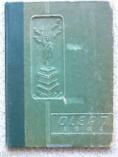 1944 OLEY HIGH SCHOOL YEARBOOK OLEY, PENNSYLVANIA  THE OLEAN
