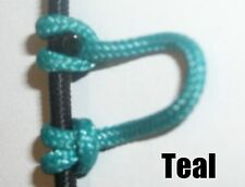 3 Pack Teal Archery Release Bow String Nock D Loop Bowstring BCY #24