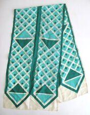 Donald Brooks Scarf Oblong Silk Polka Dot Vintage 1960's