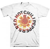 AUTHENTIC RED HOT CHILI PEPPERS LED ASTERISK LOGO MUSIC T TEE SHIRT S M L XL 2XL