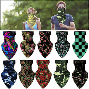 Multi-Use Bandana Face Cycling Biker Outdoor Snood Neck Scarf Tube Gaiter