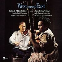 YEHUDI/SHANKAR,RAVI/MENUHIN,H. MENUHIN - WEST MEETS EAST  VINYL LP NEW+