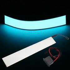 Electroluminescent EL Tape Panel Back Light With Inverter White Party Deocr 12""