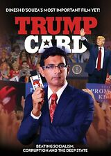 TRUMP CARD (DVD)  DINESH D'SOUZA : NEW FREE SHIPPING>