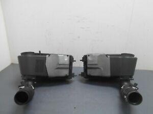 2008 08 09 10 Porsche Cayenne GTS Air Box Assemblies  #0668 C3