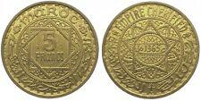 MAROKKO Mohammed V.  5 Francs AH 1365 (1945); Essai, K.M. E 34, Lecompte 242