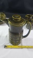 Lord Nelson Pottery Moss Green Coffee Pot