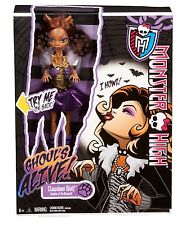 MONSTER HIGH GHOUL'S ALIVE CLAWDEEN WOLF