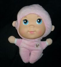 "8"" GOLDBERGER BABYS FIRST TIPPY PINK DOLL RATTLE STUFFED ANIMAL PLUSH TOY SOFT"