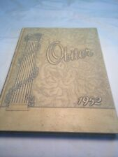 1952 BLOOMSBURG Pa.TEACHERS COLLEGE YEARBOOK.