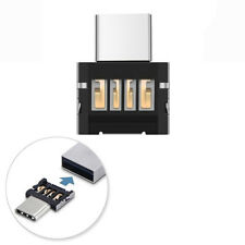 2pcs Mini USB-C 3.1 Type C Male to USB Female Adapter OTG Data Sync Converter
