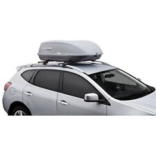 Car SUV Rooftop Cargo Box Case Hard Shell Carrier Lock Thule Storage Organizer