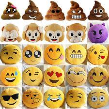 35.1cm Emoji visage smiley emoticône Peluche farcies oreiller Caca en forme de /