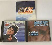 Martha Wash Collection + 2 LOGIC GAY PRIDE LGBTQ John Blair Party DJs 3 CD LOT!