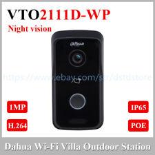 Dahua VTO2111D-WP 1MP Wi-Fi Villa Outdoor Station Video Intercom POE P2P Network