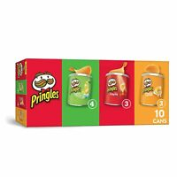 Pringles Potato Crisps Chips, Flavored Variety 13.7   (10 Count)