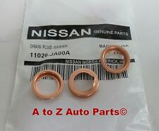 Nissan Altima, 370Z,Pathfinder,Etc Engine Oil Filter (3) CRUSH WASHERS, OEM
