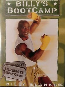 BILLY BLANKS  Ultimate Boot Camp Dvd New/Sealed Freepost