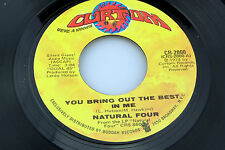 Natural Four: You Bring Out the Best In Me / You Can't Keep Run..[Unplayed Copy]