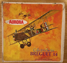 Breguet 14 Aurora 1/48 RETRO model aircraft kit SEALED BAG RARE #034R