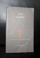 Jan Fabre # KRITISCH THEATER LEXICON # 1998, nm