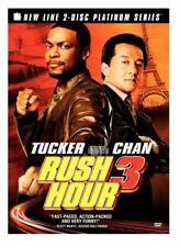New: Rush Hour 3 (2-Disc) Dvd Set w/ 3D Slip Cover
