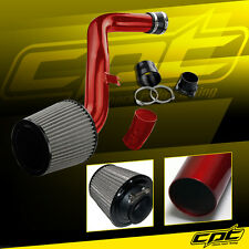 Red Cold Air Intake + Stainless Steel Air Filter For 02-06 Altima 3.5L V6