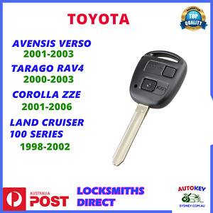 TOYOTA TARAGO RAV4 AVENSIS REMOTE KEY 2000 2001 2002 2003